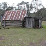 Old shack in rural Australia
