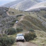 Australian high country 4WD track