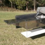 Camper Trailer with Custom Bench
