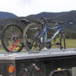 Camper Trailer with Custom Bike Storage