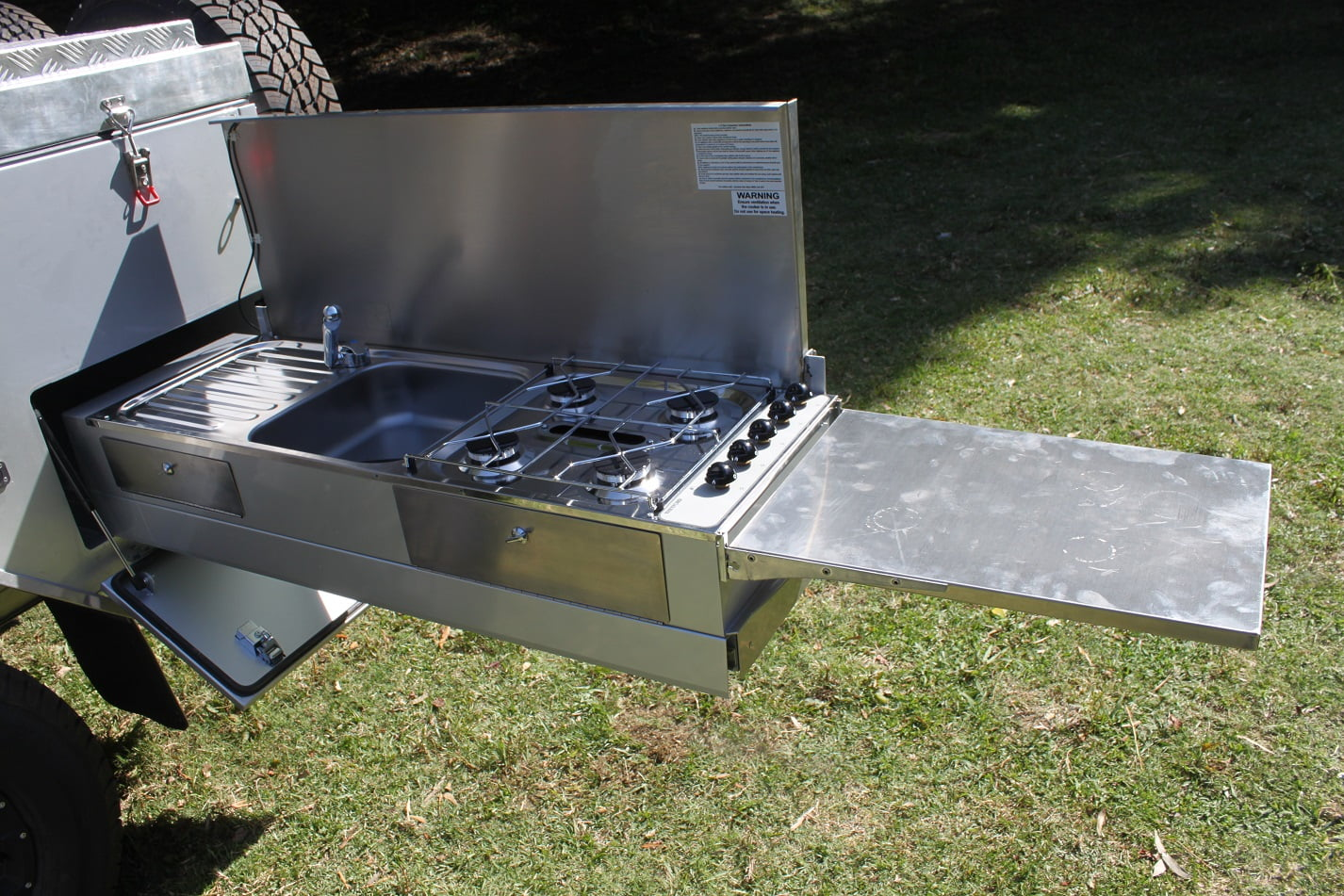 Camper Trailer Kitchen Ff1 The Easiest Forward Fold Camper Available Offroad Tour King