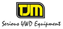TJM Serious 4WD Equipment logo